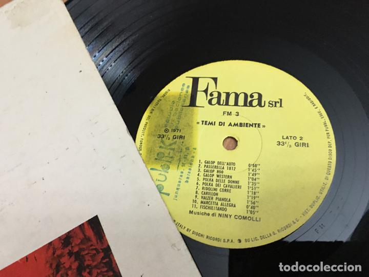 Discos de vinilo: NINY COMOLLI (TEMI DI AMBIENTE) LP ITALIA 1971 (B-11) - Foto 2 - 193654530