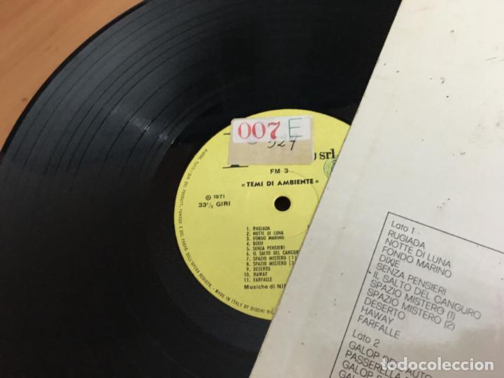 Discos de vinilo: NINY COMOLLI (TEMI DI AMBIENTE) LP ITALIA 1971 (B-11) - Foto 3 - 193654530