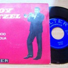 Discos de vinilo: ROY ETZEL - EL SILENCIO. MELANCOLIA (ESTILO JAZZ, EASY LISTENING) SELLO BELTER 1965. Lote 193660011