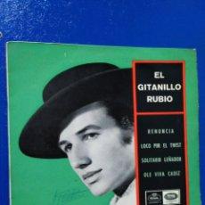 Discos de vinilo: VINILO SINGLE EL GITANILLO RUBIO. Lote 193661917