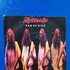 Discos de vinilo: VINILO SINGLE ROSENDO PAN DE HIGO. Lote 193661945