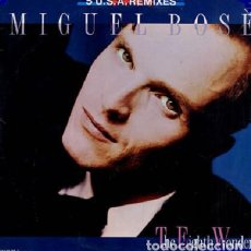 Discos de vinilo: MIGUEL BOSE, THE EIGHTH WONDER ( 5 USA REMIXES) MAXI-SINGLE SPAIN 1988. Lote 193677747