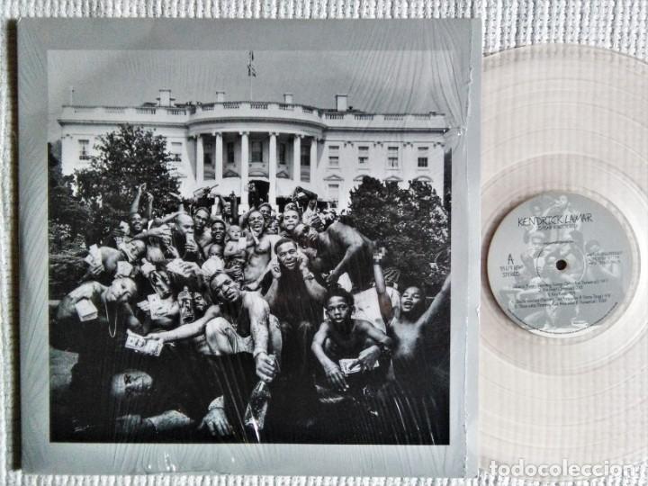KENDRICK LAMAR - '' TO PIMP A BUTTERFLY '' 2 LP CLEAR VINYL LIMITED 1000 COPIES 2015 (Música - Discos - LP Vinilo - Rap / Hip Hop)