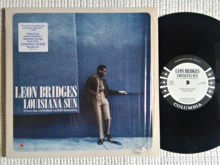 LEON BRIDGES - '' LOUISIANA SUN (FROM THE COMING HOME SESSIONS) '' EP 10'' 2016 (Música - Discos de Vinilo - EPs - Funk, Soul y Black Music)
