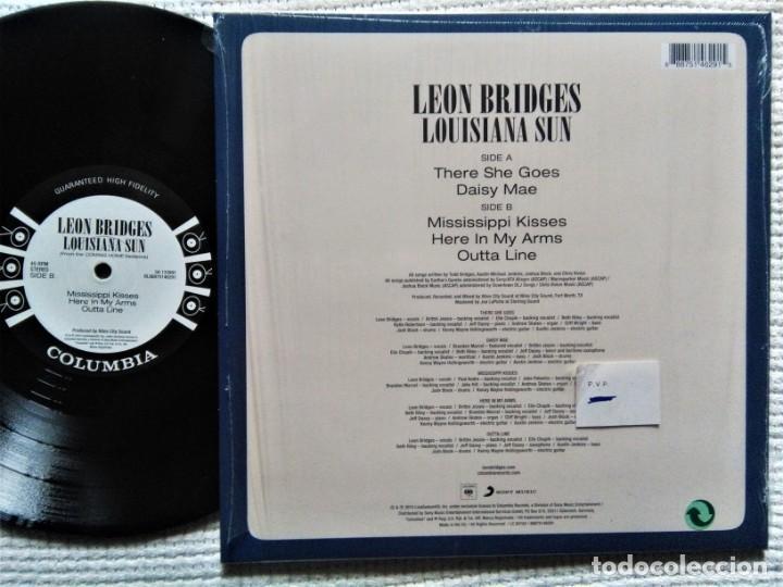 Discos de vinilo: LEON BRIDGES - LOUISIANA SUN (FROM THE COMING HOME SESSIONS) EP 10 2016 - Foto 2 - 193698858