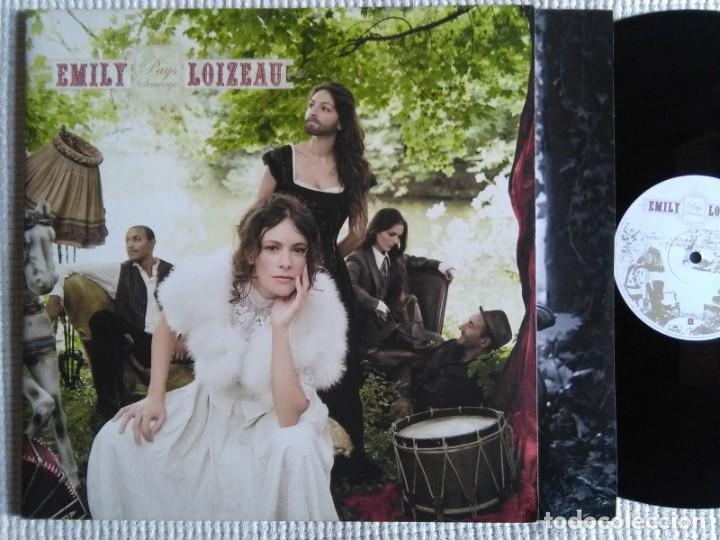 EMILY LOIZEAU - '' PAYS SAUVAGE '' 2 LP + INNER GATEFOLD 2009 GERMANY (Música - Discos de Vinilo - EPs - Funk, Soul y Black Music)