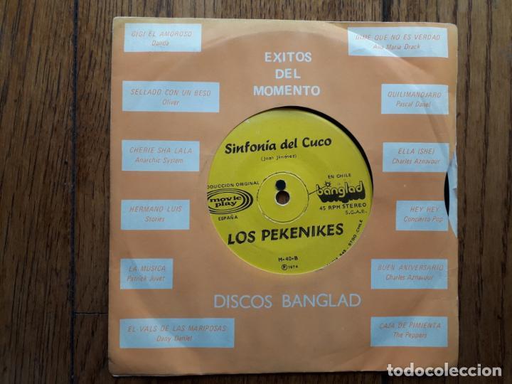 LOS PEKENIKES - SINFONIA DEL CUCO + THARSIS - HAY AMOR (Música - Discos - Singles Vinilo - Grupos Españoles de los 70 y 80)