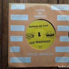 Discos de vinilo: LOS PEKENIKES - SINFONIA DEL CUCO + THARSIS - HAY AMOR. Lote 193701607