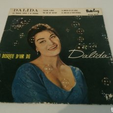 Discos de vinilo: DALIDA–LE DISQUE D'OR DE DALIDA . PASSION FLOWER. EP 1960. Lote 193702731