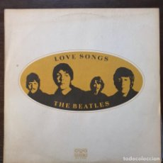 Discos de vinilo: THE BEATLES ‎– LOVE SONGS, БАЛКАНТОН ‎– ВТА 1141/42, 2XLP. BULGARIA 1985, GATEFOLD. Lote 193703581