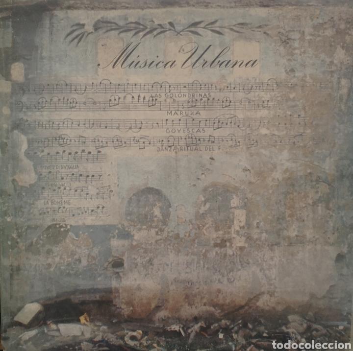 MUSICA URBANA (Música - Discos - LP Vinilo - Grupos Españoles de los 70 y 80)