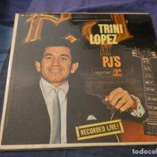 Discos de vinilo: PRECIOSO VINILO AMERICANO DE EPOCA TRINI LOPEZ LIVE AT PJ´S USA 1960. Lote 193719150