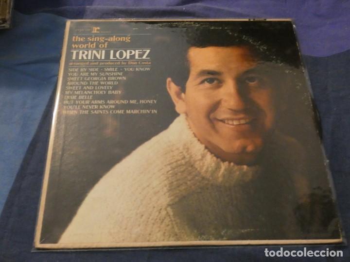 LP AMERICANO DE EPOCA BUEN ESTADO SING ALONG THE WORLD OF...MUY CORRECTO (Música - Discos de Vinilo - Maxi Singles - Cantautores Internacionales)