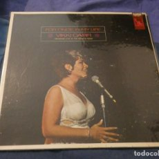 Discos de vinilo: LP AMERICANO DE EPOCA BASTANTE BUEN ESTADO VIKKI CARR FOR ONCE IN MY LIFE RECORDED LIVE. Lote 193719930