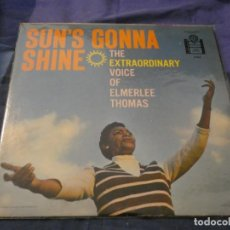 Discos de vinilo: LP AMERICANO DE EPOCA EMERLEE THOMAS THE EXTRAORDINARY VOICE OF... USA 1959 BUEN ESTADO. Lote 193720306