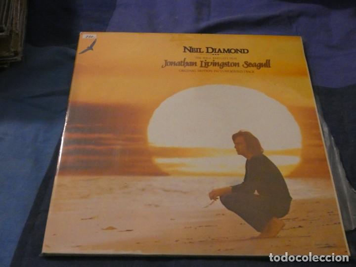 LP DOBLE ESPAÑOL MUY BUEN ESTADO NEIL DIAMOND JOHNATAN LVINGSTON SEAGULL MUY BUEN ESTADO (Música - Discos de Vinilo - Maxi Singles - Cantautores Internacionales)