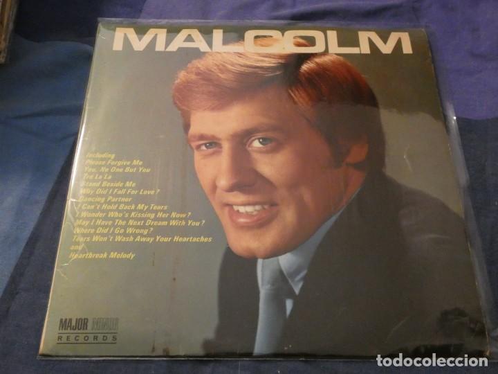 ANTIGUO LP INGLES VINILO DECENTE PORTADA MUY BIEN MALCOM ROBERTS (Música - Discos de Vinilo - Maxi Singles - Cantautores Extranjeros)