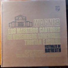 Discos de vinilo: WAGNER FESTIVALES DE BAYREUTH, 14LPS. Lote 193727632