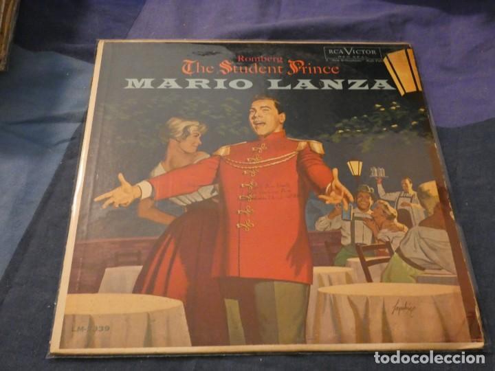 MARIO LANZA THE STUDENT PRNCE LP ANTQIUISIMO USA RCA RED SEAL VINILO BIEN PORTADA MUY BIEN (Música - Discos de Vinilo - Maxi Singles - Cantautores Internacionales)