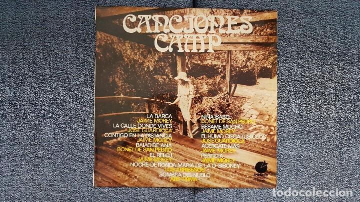 CANCIONES CAMP - JAIME MOREY,JOSÉ GUARDIOLA,BONET DE SAN PEDRO, ETC. EDITADO POR IMPACTO. AÑO 1.970 (Música - Discos - LP Vinilo - Solistas Españoles de los 50 y 60)