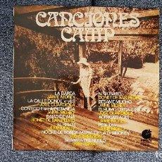 Discos de vinilo: CANCIONES CAMP - JAIME MOREY,JOSÉ GUARDIOLA,BONET DE SAN PEDRO, ETC. EDITADO POR IMPACTO. AÑO 1.970. Lote 193731871