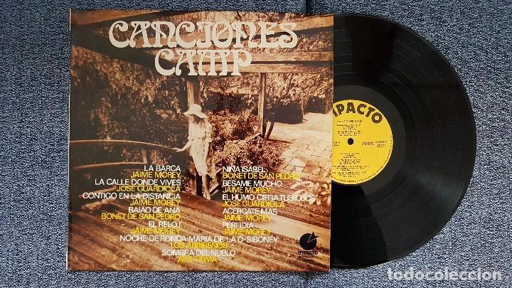 Discos de vinilo: Canciones camp - Jaime Morey,José Guardiola,Bonet de San Pedro, etc. Editado por Impacto. año 1.970 - Foto 2 - 193731871