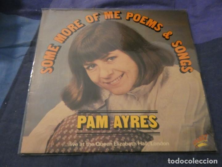 LP UK ANTIGUO PAM AYRES SOME MORE OF ME AÑOS 60 LIVE AT ELIZABETH HALL LONDON (Música - Discos de Vinilo - Maxi Singles - Cantautores Extranjeros)
