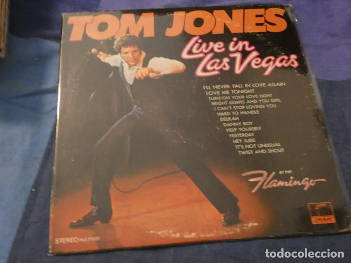 ANTIGUO LP TOM JONES LIVE AMERICANO PARROT EN BUEN ESTADO (Música - Discos de Vinilo - Maxi Singles - Cantautores Extranjeros)
