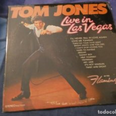 Discos de vinilo: ANTIGUO LP TOM JONES LIVE AMERICANO PARROT EN BUEN ESTADO . Lote 193734552