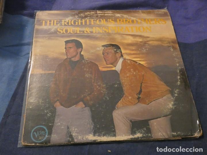 LP AMERICANO ANTIQUISMIO THE RIGHTEOUS BROTHERS ESTADO ACEPTABLE CON LEVES SEÑALES DE USO (Música - Discos de Vinilo - Maxi Singles - Cantautores Extranjeros)