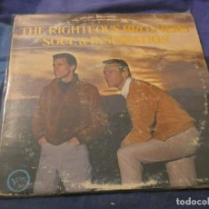 Discos de vinilo: LP AMERICANO ANTIQUISMIO THE RIGHTEOUS BROTHERS ESTADO ACEPTABLE CON LEVES SEÑALES DE USO . Lote 193734907