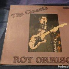 Discos de vinilo: THE CLASSIC ROY ORBISON ESPAÑA 1989 APROX MUY BUEN ESTADO PORTADA Y VINILO . Lote 193735157