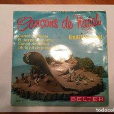 Discos de vinilo: NADALES,VILLANCICOS, CANCONS DE NADAL EN CATALAN. Lote 193736061