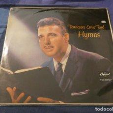 Discos de vinilo: LP UK AÑOS 60 ANTIQUISIMO TENESSEE ERNIE FORD HYMNS EN CAPITOL MUY BUEN ESTADO. Lote 193738117