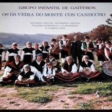 Discos de vinilo: V422 - GRUPO INFANTIL DE GAITEIROS OS DA VEIRA DO MONTE. GALICIA. LP VINILO. Lote 193738241