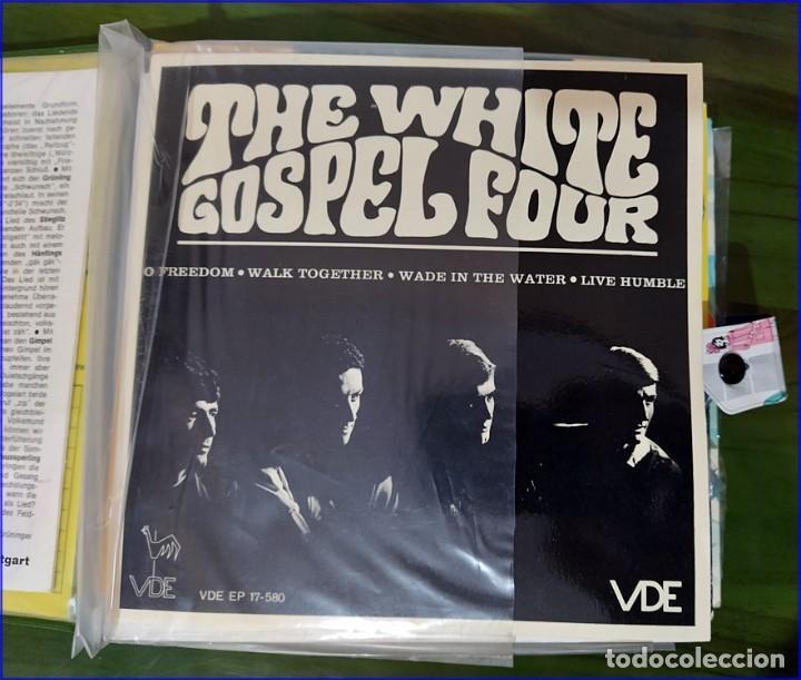 Discos de vinilo: Antiguo álbum de singles. Retro. - Foto 4 - 193738296