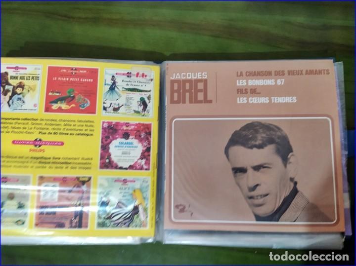 Discos de vinilo: Antiguo álbum de singles. Retro. - Foto 6 - 193738296