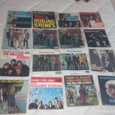 Discos de vinilo: THE ROLLING STONES LOTE 14 EP + 9 SINGLE 45 RPM DECCA FRANCE FRANCIA. Lote 193739015
