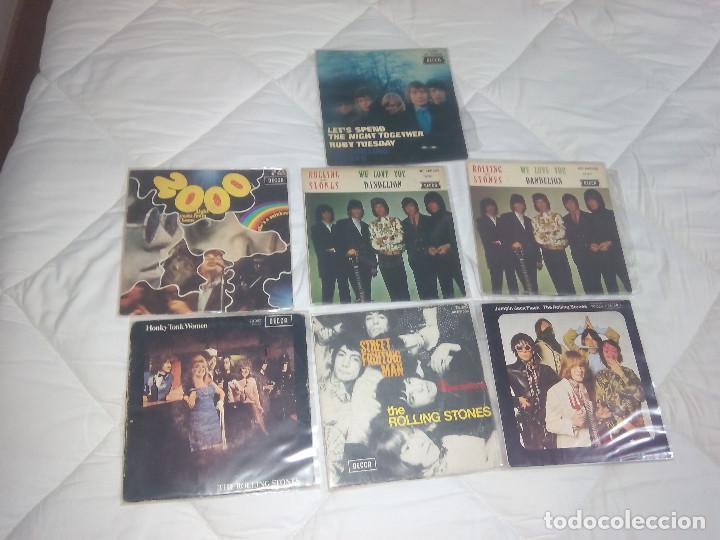 Discos de vinilo: THE ROLLING STONES LOTE 14 EP + 9 SINGLE 45 RPM DECCA FRANCE FRANCIA - Foto 2 - 193739015