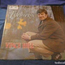 Discos de vinilo: LP UK 1967 BUEN ESTADO VINCE HILL EDELWEISS. Lote 193739402