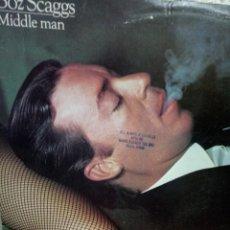 Disques de vinyle: BOZ SCAGGS - MIDDLE MAN - LP HOLLAND. Lote 193739405