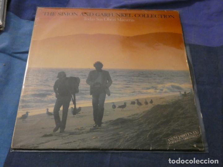 LP ESPAÑOL SIMON AND GARFUNKEL COLLECTION TODAS SUS OBRAS MAESTRAS ESTADO DECENTE (Música - Discos de Vinilo - Maxi Singles - Cantautores Extranjeros)