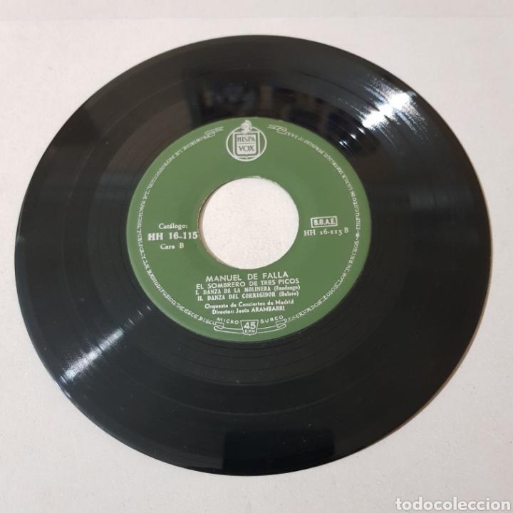 Discos de vinilo: MANUEL DE FALLA - EL AMOR BRUJO - EL SOMBRERO DE TRES PICOS - Foto 4 - 193740113
