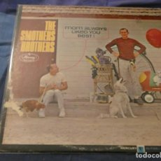 Discos de vinilo: LP AMERICANO ANTIGUO SMOTHERS BROTHERS MOM ALWAYS LIKED YOU BEST PORTADA VER FOTO VINILO BIEN . Lote 193740595