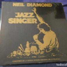 Discos de vinilo: LP NEIL DIAMOND BSO DE LA PELI THE JAZZ SINGER MUY BUEN ESTADO GATEFOLD . Lote 193740700