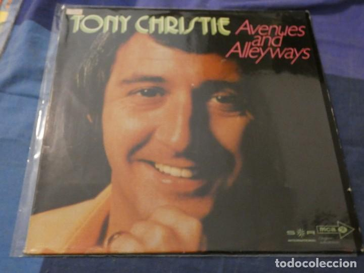 Discos de vinilo: TONY CHRISTIE AVENUES AND ALLEYWAYS USA LP 1973 MUY BUEN ESTADO - Foto 1 - 193740928