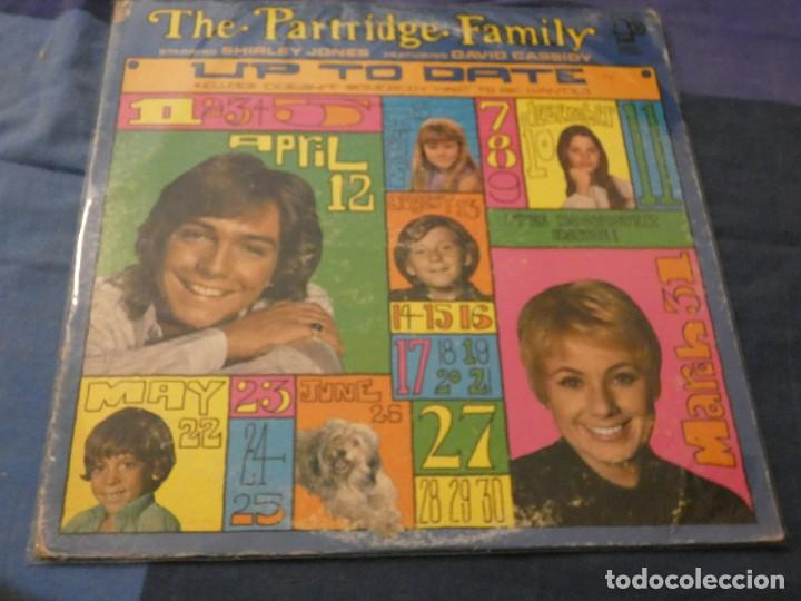 LP THE PARTRIDGE FAMILY UP TO DATE USA 1973 ESTADO DECENTE (Música - Discos de Vinilo - Maxi Singles - Cantautores Extranjeros)