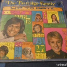 Discos de vinilo: LP THE PARTRIDGE FAMILY UP TO DATE USA 1973 ESTADO DECENTE . Lote 193741128