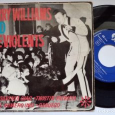 Discos de vinilo: JERRY WILLIAMS & THE VIOLENTS - CUARENTA DIAS - EP 1963 - DISCOPHON. Lote 193745130
