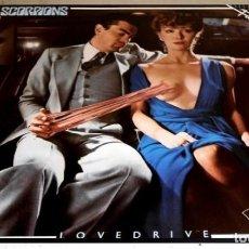 Discos de vinilo: V414 - SCORPIONS. LOVEDRIVE. LP VINILO. Lote 193746318